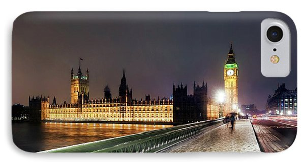Houses Of Parliament And Big Ben IPhone Case by Daniel Sambraus