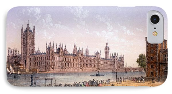 Houses Of Parliament From The South IPhone Case