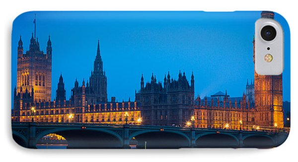 Houses Of Parliament IPhone Case by Inge Johnsson
