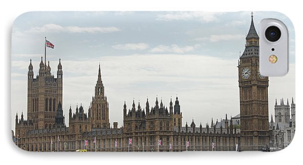 Houses Of Parliament IPhone Case by Tony Murtagh