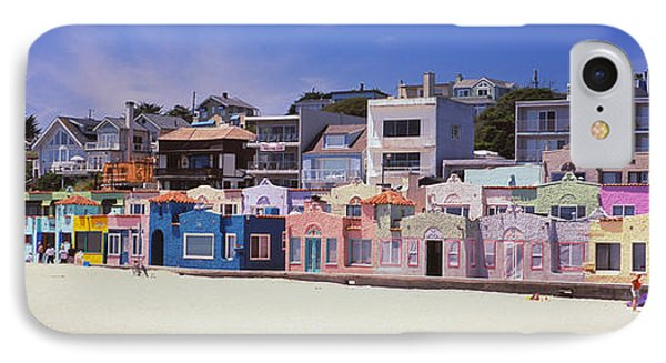 Houses On The Beach, Capitola, Santa IPhone Case