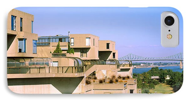 Housing Complex With A Bridge IPhone Case by Panoramic Images