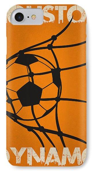 Soccer iPhone 7 Case - Houston Dynamo Goal by Joe Hamilton