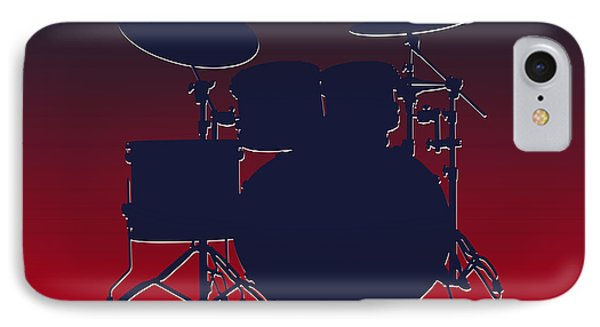 Houston Texans Drum Set IPhone Case by Joe Hamilton