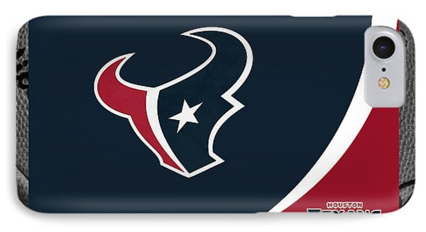 Houston Texans IPhone Case by Joe Hamilton