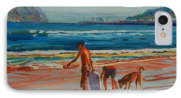 IPhone Case featuring the painting Hout Bay Trio by Thomas Bertram POOLE