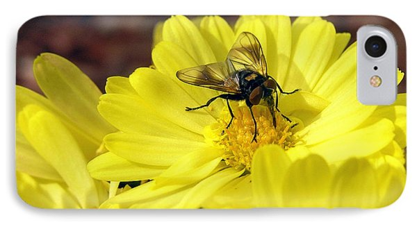 Hoverfly Phone Case by Christina Rollo