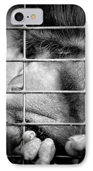IPhone Case featuring the photograph How Do I Get Out Of Here by Barbara Dudley