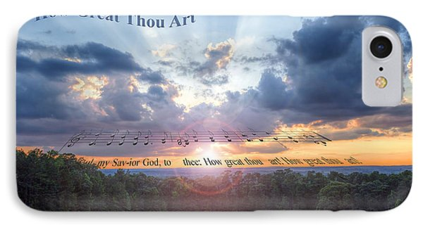 How Great Thou Art Sunset IPhone Case