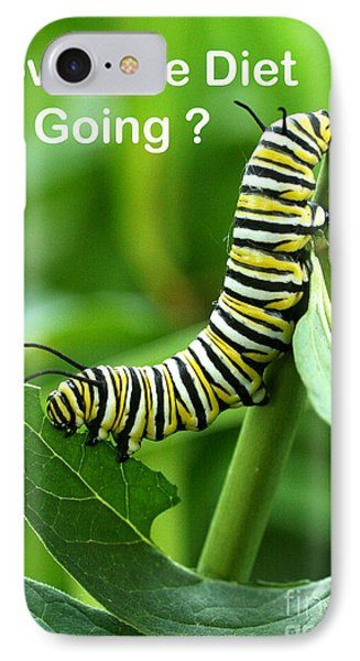IPhone Case featuring the photograph How The Diet Going by Steve Augustin