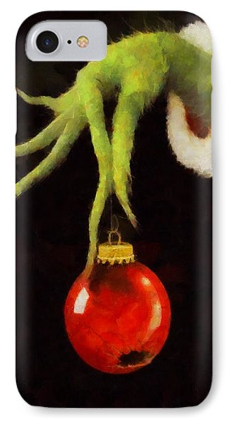 How The Grinch Stole Christmas IPhone Case by Dan Sproul