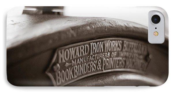 Howard Ironworks IPhone Case