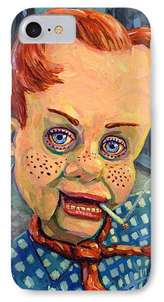 Berlin iPhone 7 Case - Howdy Von Doody by James W Johnson