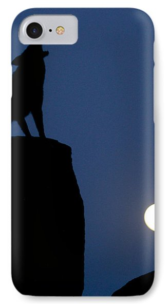 Howl IPhone Case by Diane Bohna