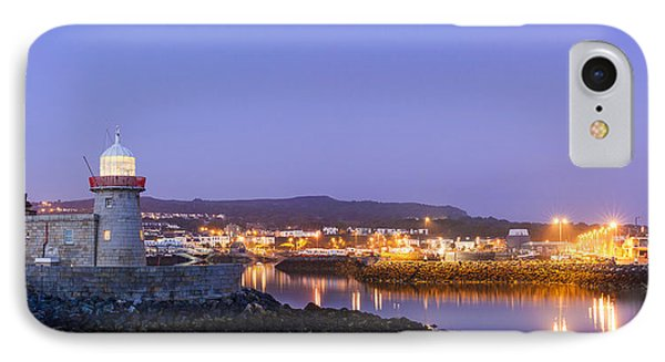Howth Harbour Lighthouse IPhone Case by Semmick Photo