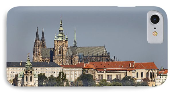 Hradcany - Cathedral Of St Vitus On The Prague Castle Phone Case by Michal Boubin