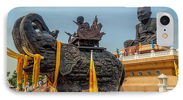 Huay Mongkol Temple  Phone Case by Adrian Evans
