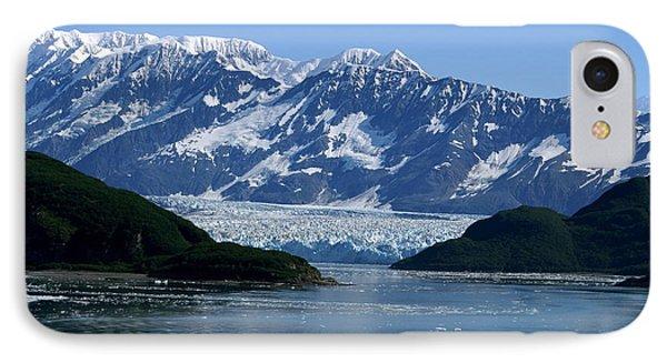 Hubbard Glacier Phone Case by Barbara Stellwagen