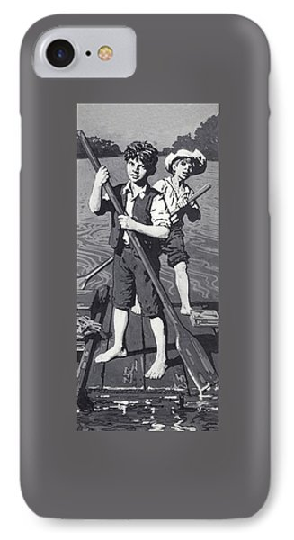 Huckleberry Finn And Tom Sawyer  IPhone Case