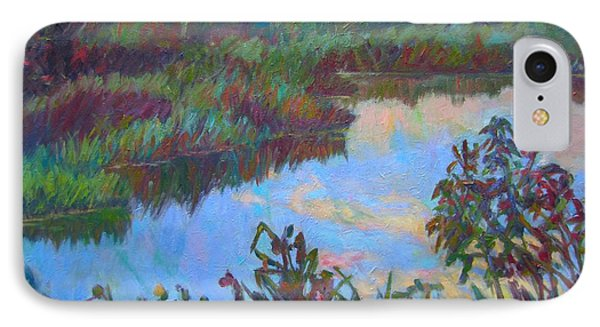Huckleberry Line Trail Rain Pond Phone Case by Kendall Kessler