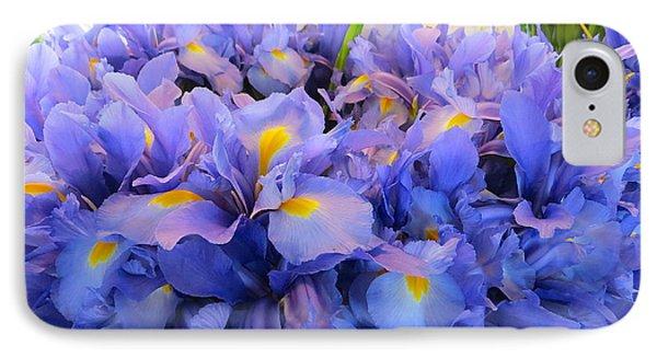 Huddling Iris IPhone Case
