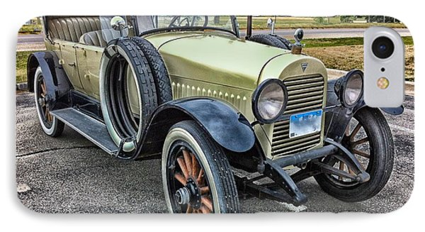 IPhone Case featuring the photograph hudson 1921 phaeton car HDR by Paul Fearn