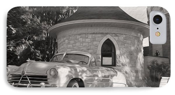 IPhone Case featuring the photograph Hudson Commodore Convertible by Verana Stark