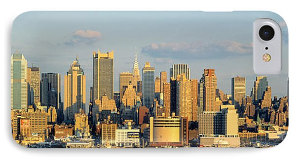 Hudson River, City Skyline, Nyc, New IPhone Case by Panoramic Images