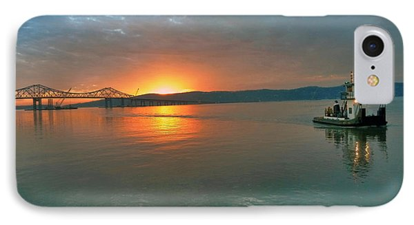 Hudson River Sunset IPhone Case by Jeffrey Friedkin