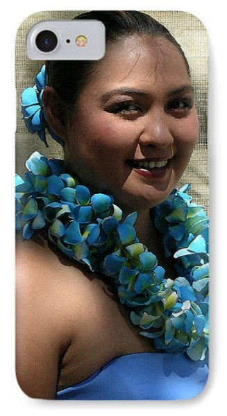 Hula Blue Phone Case by James Temple