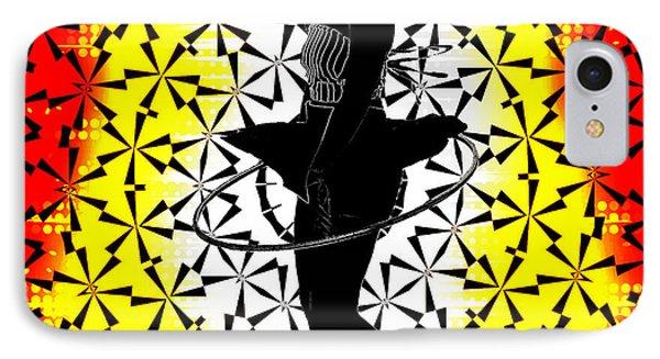 Hula Hoop Kaleidoscope Phone Case by Amber Summerow