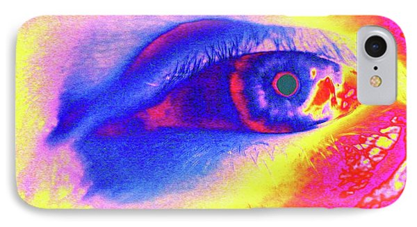 Human Eye IPhone Case by Larry Berman