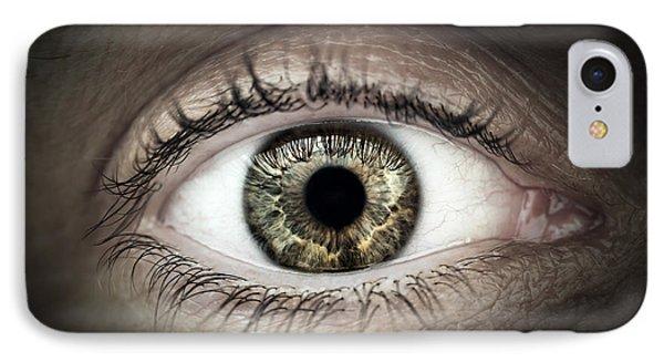 Human Eye Macro Phone Case by Elena Elisseeva