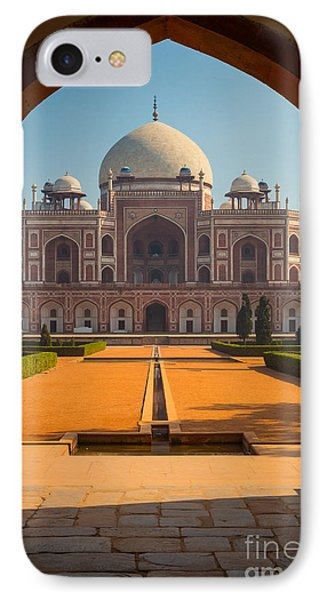 Humayun's Tomb Archway IPhone Case by Inge Johnsson