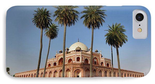 Humayun's Tomb, Delhi, India IPhone Case by Adam Jones