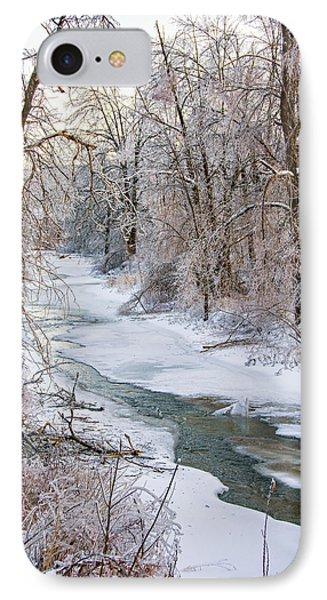 Humber River Winter Phone Case by Steve Harrington