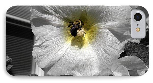 IPhone Case featuring the photograph Humble Bumblebee by Deborah Fay