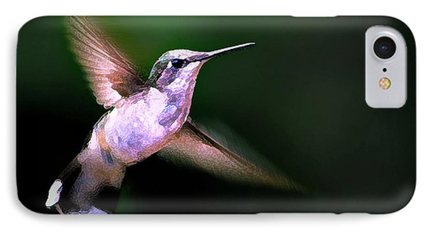 Hummer Ballet 1 IPhone Case by ABeautifulSky Photography
