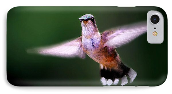 Hummer Ballet 3 IPhone Case by ABeautifulSky Photography
