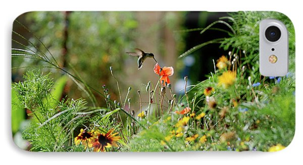 IPhone Case featuring the photograph Humming Bird by Thomas Woolworth