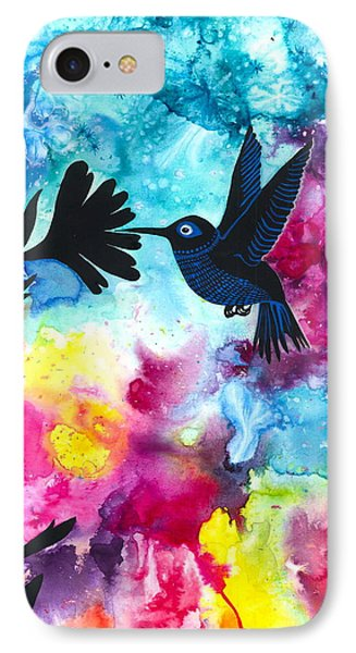 Hummingbird Phone Case by Cat Athena Louise