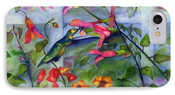 Hummingbird Dance IPhone Case
