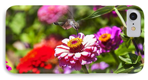Hummingbird Flight IPhone 7 Case by Garry Gay