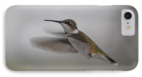 IPhone Case featuring the photograph Hummingbird  by Leticia Latocki