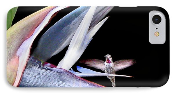 IPhone Case featuring the photograph Hummingbird Paradise by Jennie Breeze