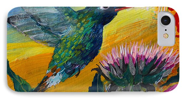 Hummingbird IPhone Case by Robin Maria Pedrero