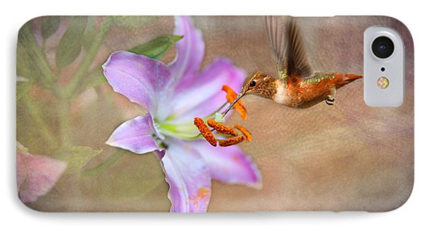 IPhone Case featuring the photograph Hummingbird Sweets by Mary Timman