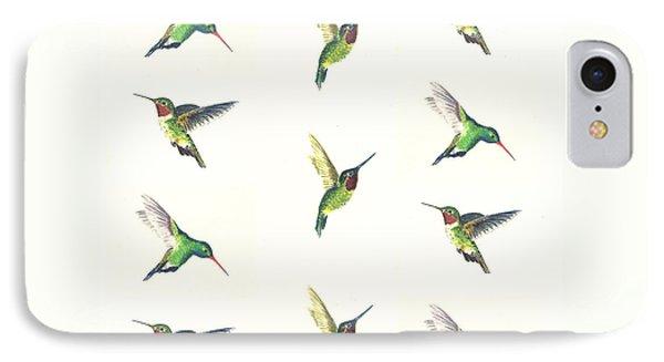 Hummingbirds Number 2 IPhone 7 Case