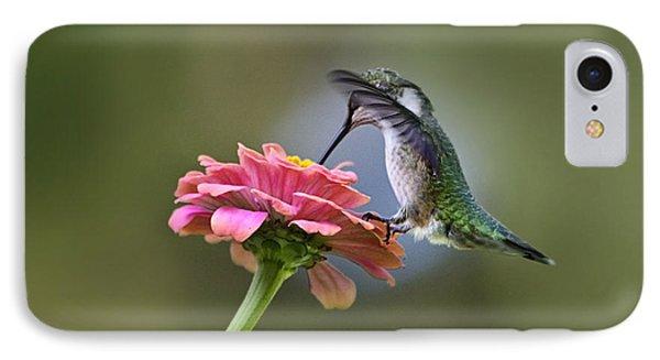 Hummingbirds Pure Goodness Phone Case by Christina Rollo