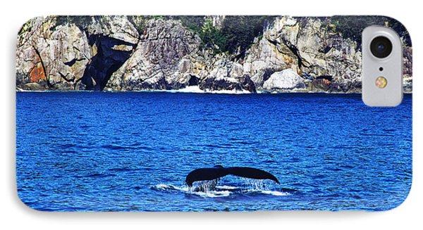 Humpback Whale Alaska Phone Case by Thomas R Fletcher